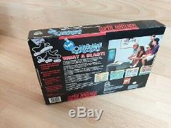 Super Bomberman Party Pak Super Nintendo / Snes Boxed Ntsc Vgc Tres Rare