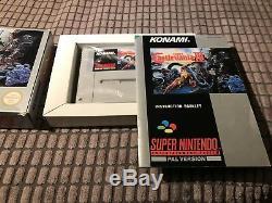 Super Castlevania 4 IV Super Nintendo Snes Jeu! Achevée! Regardez Dans La Boutique