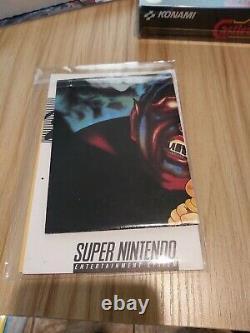Super Castlevania IV 4 Super Nintendo Snes Cib Complet Dans Les Étuis De Protection