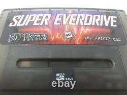Super Everdrive Dsp V2 Snes Super Nintendo Sfc Famicom Flash Cart 16 Go Sd Black