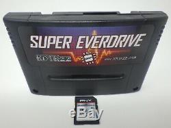 Super Everdrive Dsp V2 Snes Super Nintendo Sfc Famicom Flash Panier 16 Go Carte Sd