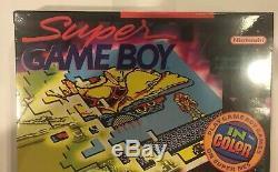 Super Game Boy Accessoire Pour Super Nintendo Snes. Brand New Et Cachetés. Htf Rare