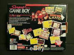 Super Gameboy (super Nintendo Entertainment System, 1994) Snes Big Box Complète