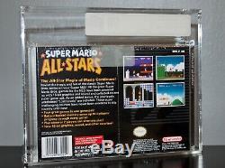 Super Mario All-stars Vga 90 Super Nintendo Snes Mint Nouveau Scellé