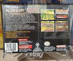 Super Mario Kart (super Nintendo, 1992) Snes Nouvelle Marque Scellée! Ne Manquez Pas