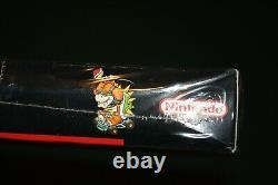 Super Mario Kart (super Nintendo Snes) Nouveau Sealed V-couture Première Impression, Graal Rare