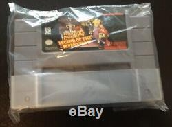 Super Mario Rpg Legend Of The Seven Stars Complete In Box Vg (super Nes, 1996)
