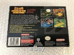Super Mario Rpg Légende Des Sept Étoiles (super Nintendo Snes) Complete. Cib
