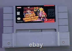 Super Mario Rpg (super Nintendo Snes) Complet Dans Box Cib Box + Livret