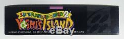 Super Mario World 2 Yoshi Island Authentique Super Nintendo Snes Complète Cib