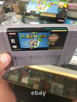 Super Mario World (super Nintendo, Snes) Complet En Box Player's Choice
