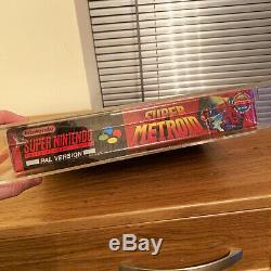 Super Metroid Bigbox Pour Super Nintendo (snes) Étanche Et Or Classé 85+ Vga 1/1