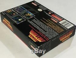 Super Metroid Super Nintendo Snes Cib 100% Complete Near Mint