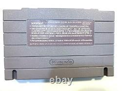 Super Metroid Super Nintendo Snes Jeu Testé Travail Authentique
