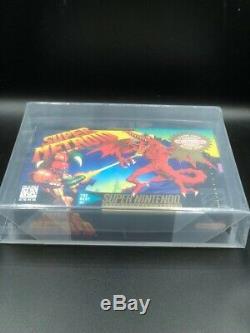 Super Metroid (snes Super Nintendo) Nouveau Scellés V-seam Mint, Vga 85 Wow Tres Rare