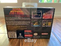 Super Metroid (super Nintendo Entertainment System, 1994) Brand New Sealed! Rare