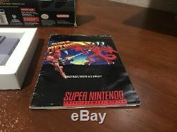 Super Metroid (super Nintendo Entertainment System, 1994) Cib Complète