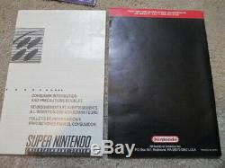 Super Metroid (super Nintendo Snes) Cib Complète Avec L'affiche + Annonce