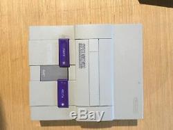 Super Nes Control Set (super Nintendo) Dans L'encadré Description Voir Non Testé