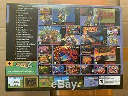 Super Nes Mini Entertainment System Super Nintendo Classique Édition 21 Jeux