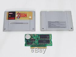 Super Nes Nintendo Zelda 3 Snes A Link To The Past (sfra Français) Complet