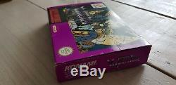 Super Nintendo Castlevania Vissire Kiss Rare Pal Eur Version Snes