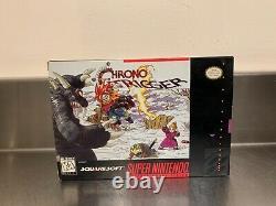 Super Nintendo Chrono Trigger Snes Inserts + Guide De Player Complete En Box