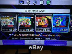 Super Nintendo Classic Edition Modded, Plus De 6 600 Titres, Nda / Snes / Sega / Neo Geo / Plus