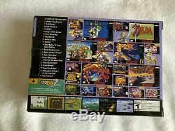 Super Nintendo Classic Edition Snes Mini Modded Avec 5000+ Jeux Nouveau Retro Mario