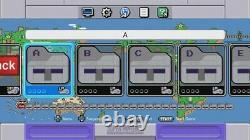 Super Nintendo Classic Mini Edition Snes System 12000+ Jeux! Bibliothèques Complètes