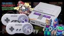 Super Nintendo Classic Mini Edition Système Snes Nes 530+ Jeux Modded