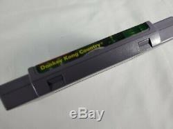 Super Nintendo Console Donkey Kong Snes Bundle Avec La Boîte Originale