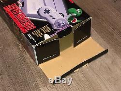 Super Nintendo Console Super Nintendo Pont Modèle Mini 2 Box System Rare Uniquement