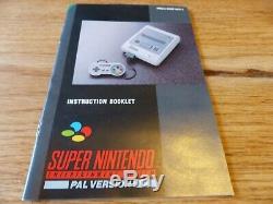 Super Nintendo Console Super Nintendo Rue Rare Fighter II (2) Variante Boxed Et Complète