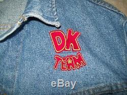 Super Nintendo Donkey Kong Country Snes Veste D'employé Dk Team Taille XL