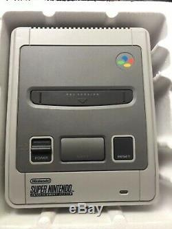 Super Nintendo Entertainment Star System Wing Édition Pack Snes Pal Uk Seller