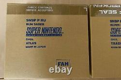 Super Nintendo Entertainment System Pal Combiné Run Sabre Super Off Road