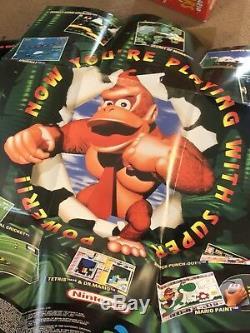 Super Nintendo Entertainment System Snes 5 Jeu Value Pack Avec Extras