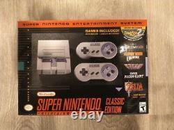 Super Nintendo Entertainment System Snes Classic Edition Console Marque Nouveau