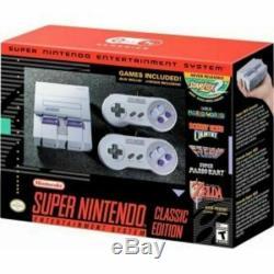Super Nintendo Entertainment System Snes Classic Edition Nouveau