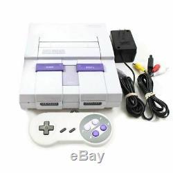 Super Nintendo Entertainment System Snes Console Clean In / Out Escompté
