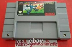 Super Nintendo Games Lot Mega Man X3, X2, X - Soccer 4 Cartouches Snes Authentiques