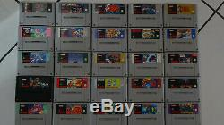 Super Nintendo Lot Jeux Vidéo Snes Megadrive Lots Action Replay2 Jeu Super Nes