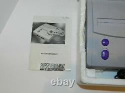 Super Nintendo Mini Compact Original System Console Complete In Box Snes Cib