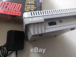 Super Nintendo Nes Système Console De Jeux Vidéo Gris Jr. Mini Snes Avec Boîte