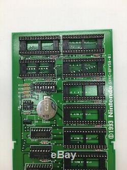 Super Nintendo Prototype, Chariot De Développeur De Prototype Rare Snes Sfc Shvc-8pv5b-01