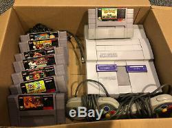Super Nintendo Snes Bundle Console