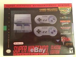 Super Nintendo Snes Classic Mini Édition Console De Jeux