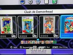 Super Nintendo Snes Classic Mini Édition Système 530+ Jeux! Nes! Tout Neuf