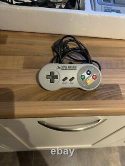 Super Nintendo Snes Console Boxed Street Fighter II 2 Pal Pas De Décoloration